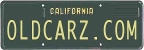 Sell Old California License Plates